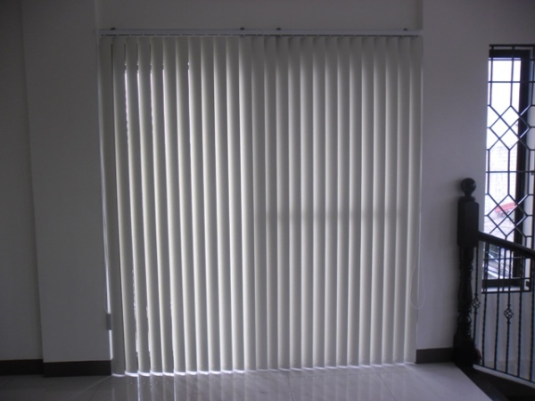 PVC Vertical Blinds Installation at Quezon City, Philippines