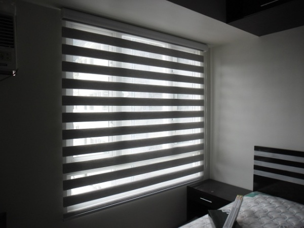 Combi Blinds Installation at Taguig City, Philippines