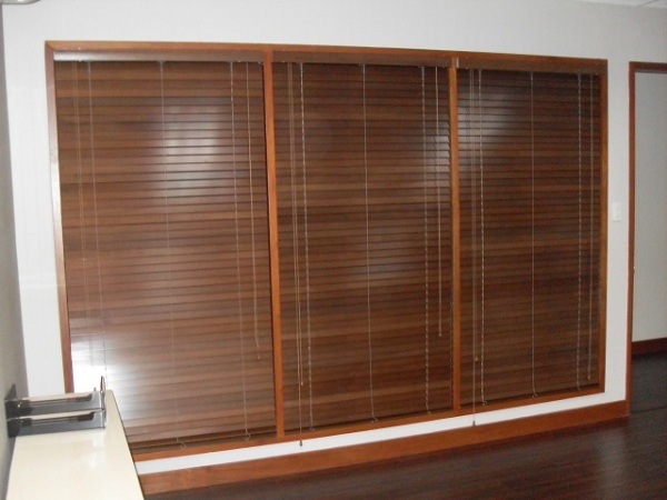 Wooden Blinds at Pasig City