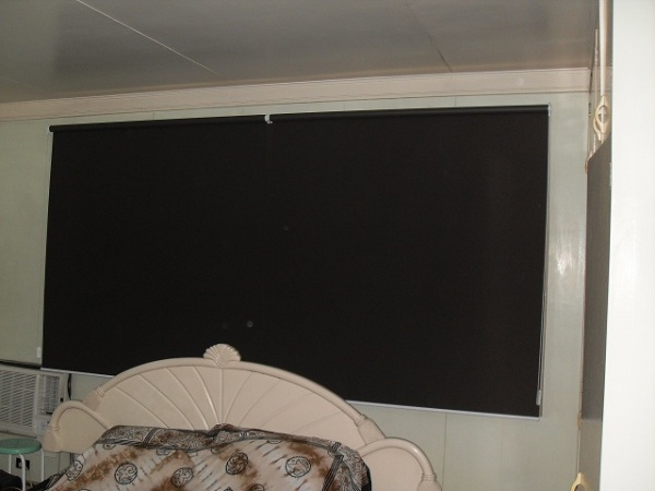 Blackout Roller Blinds Installation at Mandaluyong City