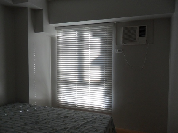 Fauxwood Blinds Installed at Antipolo City, Philippines