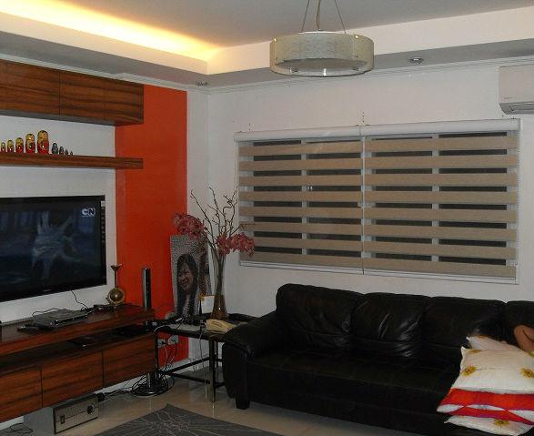 Combi Blinds Installation at San Juan, Manila