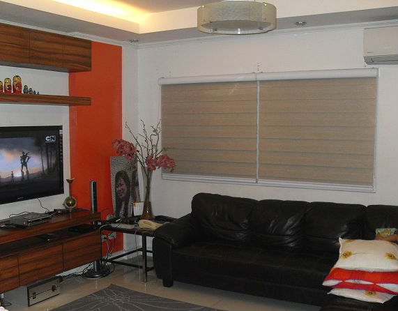 Combi Blinds : G302 Rattan color and code