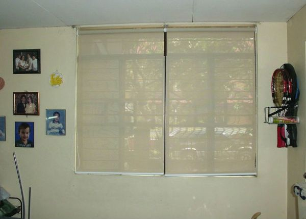 Sunscreen Roller Blinds Installation at Makati City, Philippines