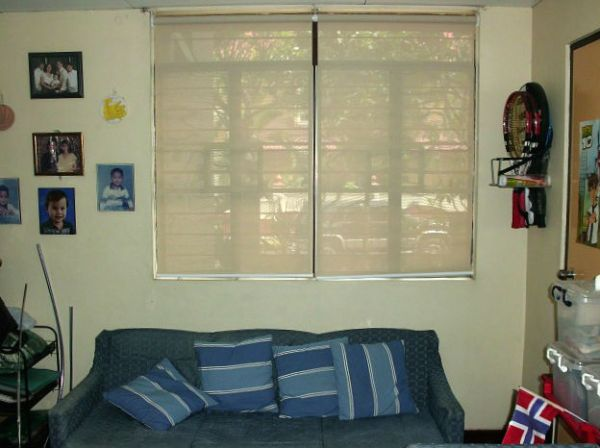 Sunscreen Roller Blinds: A4015 KHAKI