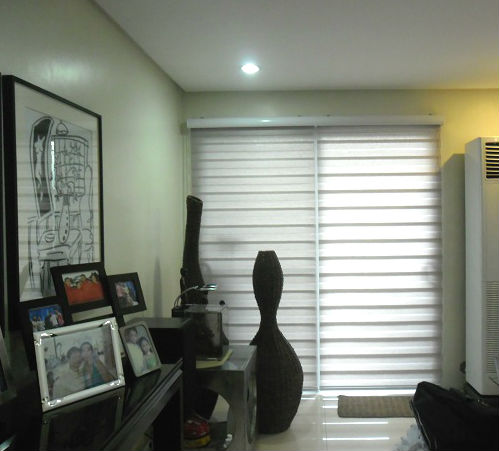 Combi Blinds For Architectural Focal Point Lounge Room Bi An Laguna Philippines Window
