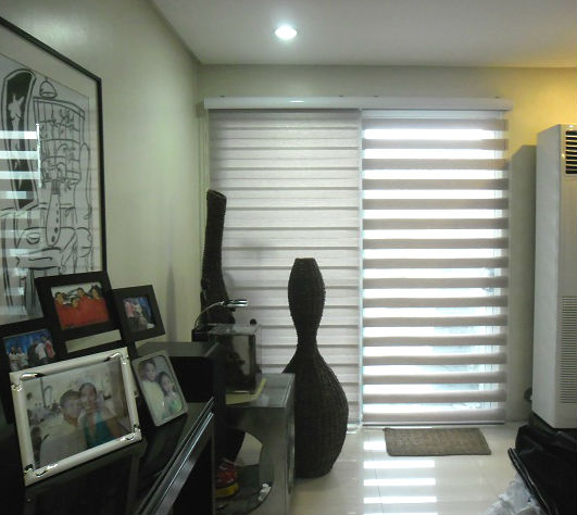 G204 Emperador Color of Combi Blinds