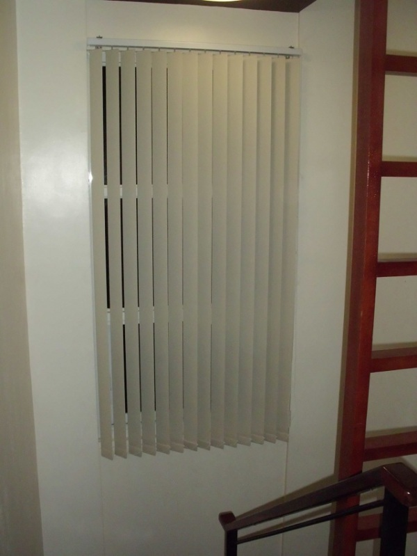 Installation of Fabric Vertical Blinds in Bulacan, Philippines