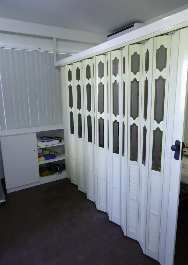 Accordion Door As Great Choice Room Partition In Taguig Philippines