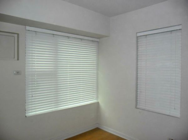 Installation of Faux Wood Blinds in Pasig City, Philippines