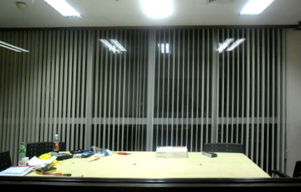 PVC Vertical Blinds Installation in Mandaluyong, Philippines
