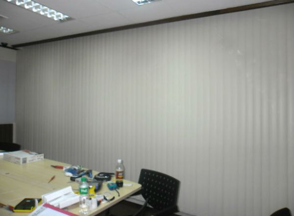 Striking PVC Vertical Blinds