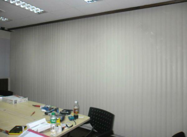 Striking PVC Vertical Blinds