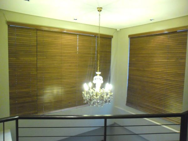 Installation of Wood Blinds in UP Village, Quezon City, Philippines