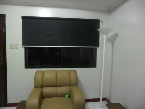 Roller Blinds: T3007 Black