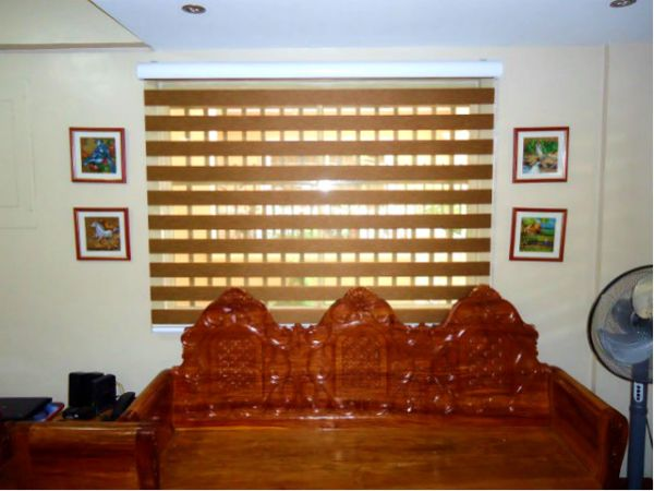 Installation of Combi Blinds in Chino Roces St., Makaty City, Philippines