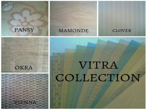 Fabric Vertical Blinds Design