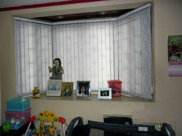 Installation of Fabric Vertical Blinds in Quezon, Philippines