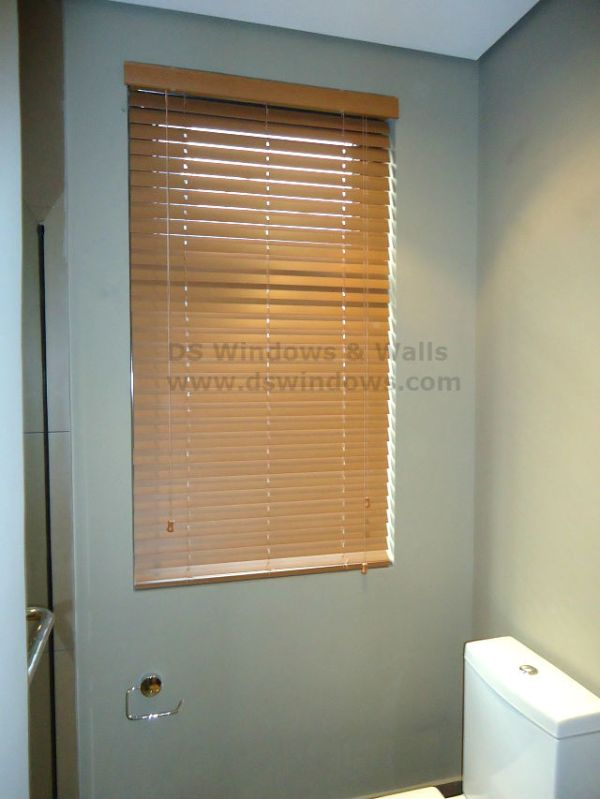 Affordable Faux Wood Blinds / Fake Wood Blinds