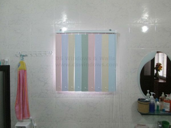 Installed PVC Vertical Blinds in Santolan, Pasig City