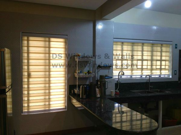 Beautiful Combi Blinds for Kitchen Area