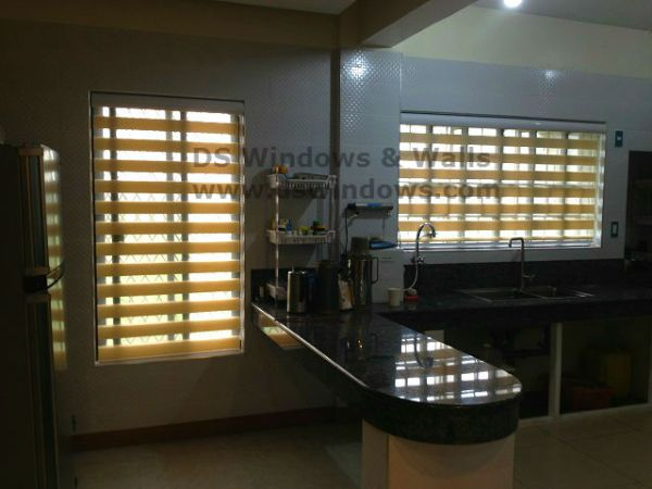Installed Combi Blinds in Lipa, Batangas City