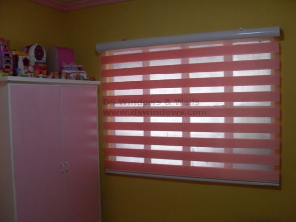 Combi Blinds: G105 Pink