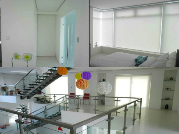 Sunscreen Roller Blinds Installed in Ayala, Makati, Philippines