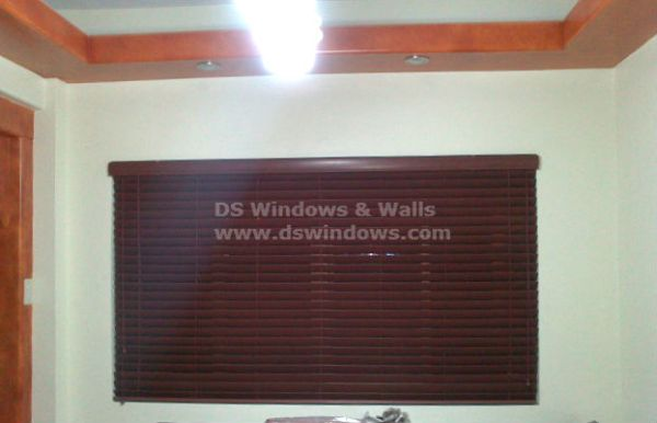 Faux Wood Blinds Installed in Cavite City