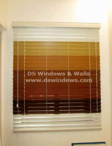 Wood Blinds in DS Windows & Walls:  Metro Manila, Philippines