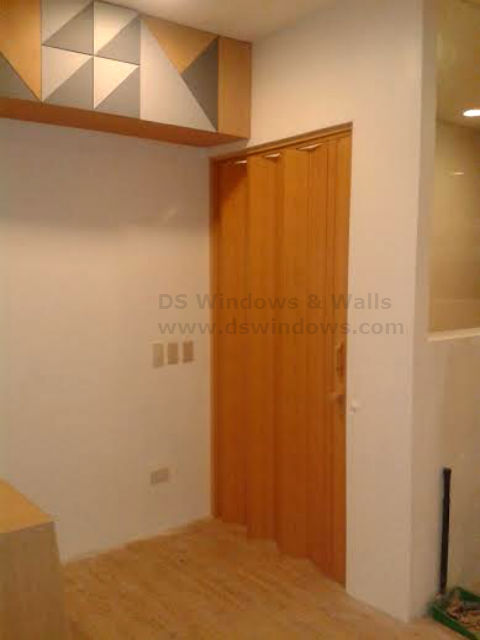 Installation of Folding Door in Pandacan, Manila, Philippines