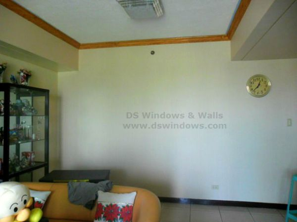 Vinyl Wall Covering Installed in Pasig City, Philippines