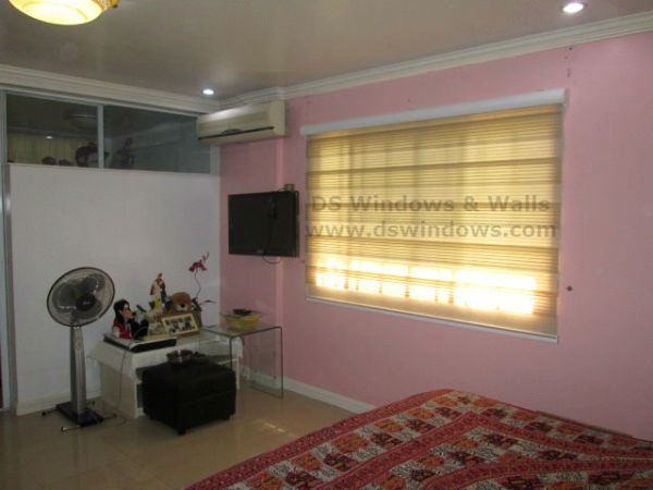 Pleated Combi Blinds Installed in Paranaque City, Philippines