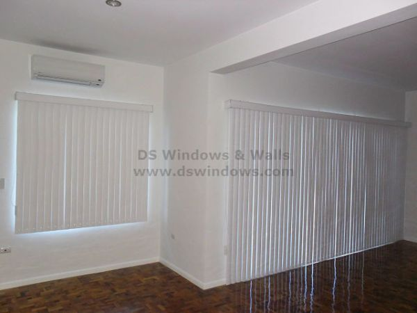 PVC Vertical Blinds for Large Windows