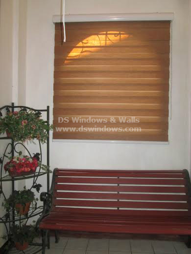 Combination Blinds for Arch Window in your Home