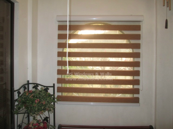 Combi Blinds Installed in Fairview, Quezon City, Philippines