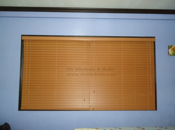 Faux Wood Blinds in Mandaluyong, Metro Manila, Philippines