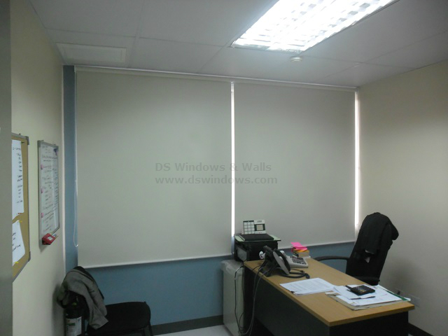 blockout roller blinds installed in pasig city philippines
