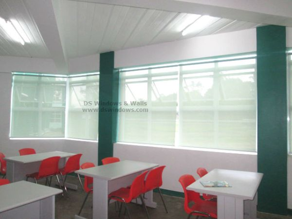 Roller Blinds Installed in FTI Complex, Taguig City