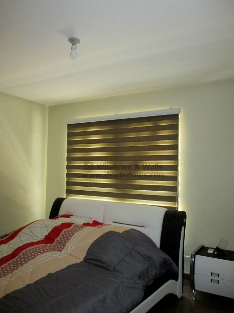 Combi Blinds Installed in Apartment Bedroom - Palanan, Makati