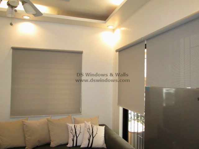 Roller Blinds Installed In La Vista Quezon City Philippines