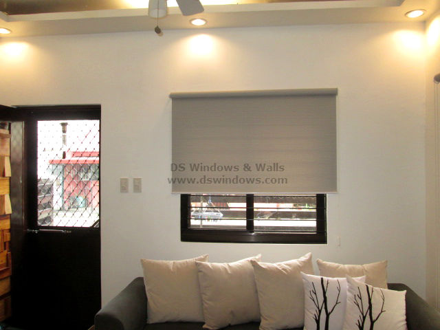 Roller Blinds For Living Room With Shades Of Grey La Vista Quezon City Philippines Window