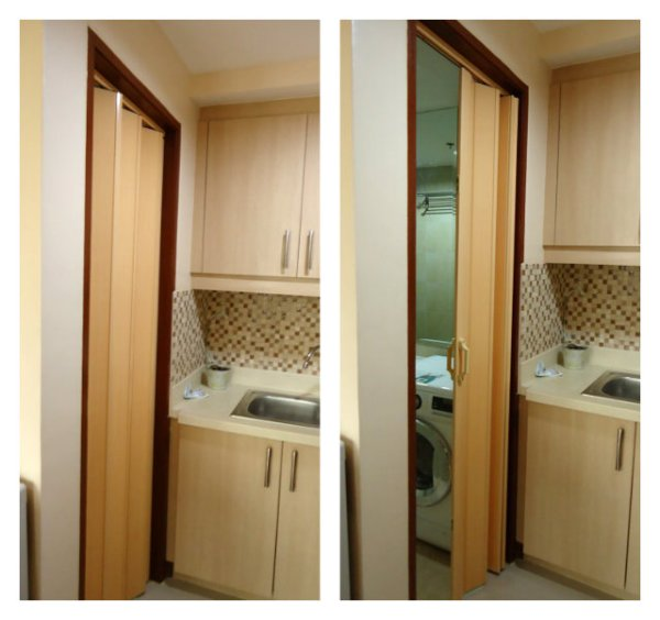 Water Proof Accordion Door for Laundry Area - Sta Rosa, Laguna Philippines