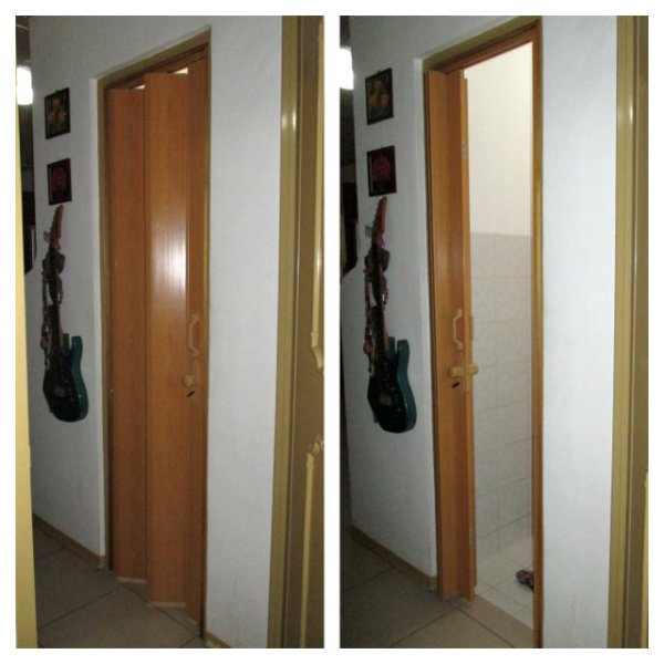 Water Proof Accordion Door For Shower Room - Sta Rosa, Laguna