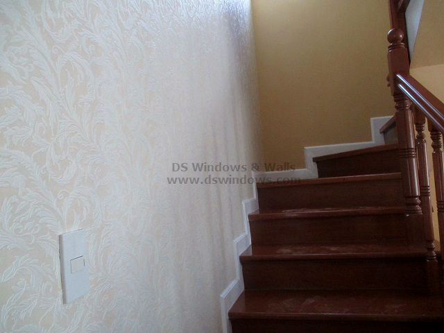 Patterned Wallpaper Installed At Tayabas Quezon, Philippines