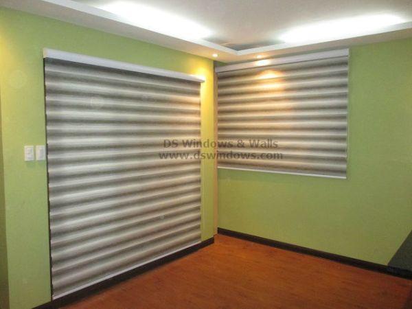 Dual Shade Blinds installed at Marikina City Philippines