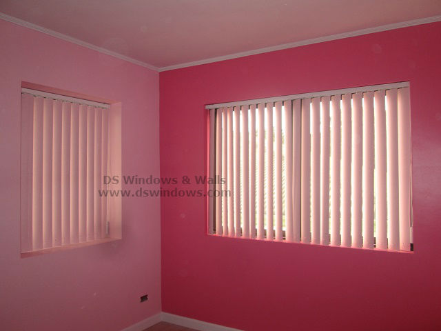 PVC Vertical Blinds for Girls Pink Room – Ermita Manila | Window ...