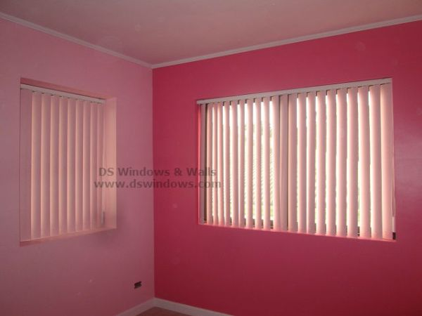PVC Vertical Blinds for Girls Pink Room - Ermita Manila