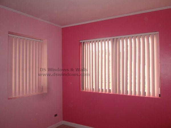 PVC Vertical Blinds for Girls Pink Room - Ermita Manila
