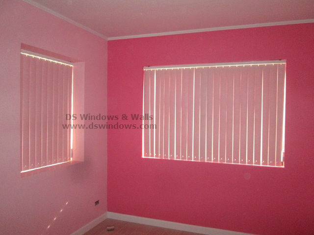 Pvc Vertical Blinds For Girls Pink Room Ermita Manila